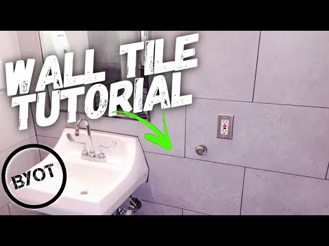 DIY How To Tile A Bathroom (BYOT #14)