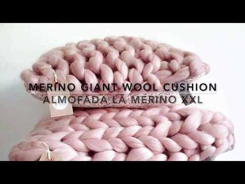 Cushion Merino Giant Woll  #1