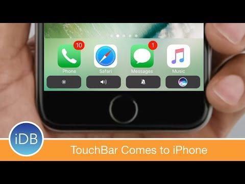[Tweak] Add a MacBook Pro-Style TouchBar to Your iPhone