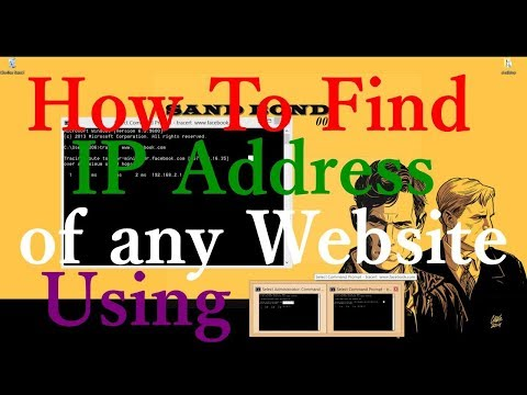 {With Proof} How To Find IP Address Of Any Website Using