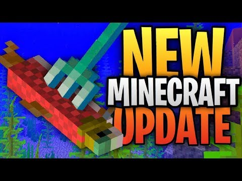 NEW Minecraft Update - The Aquatic Update BETA