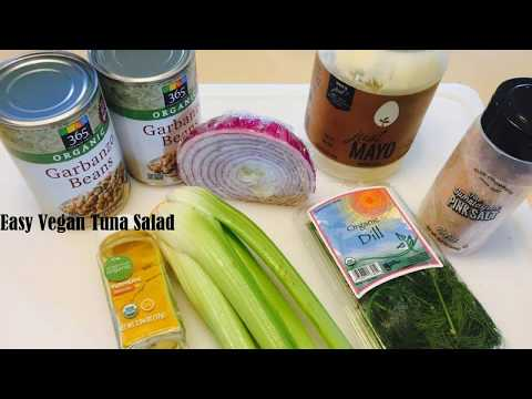 How to make Easy Vegan Tuna Salad / THE BEST TUNA SALAD