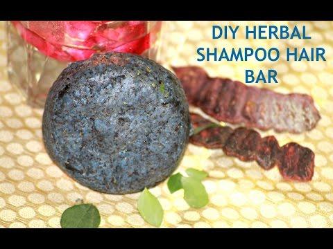 DIY Herbal Shampoo Bar For Healthy Hair, Anti-Hair Fall, Anti Dandruff, Prevents Greying