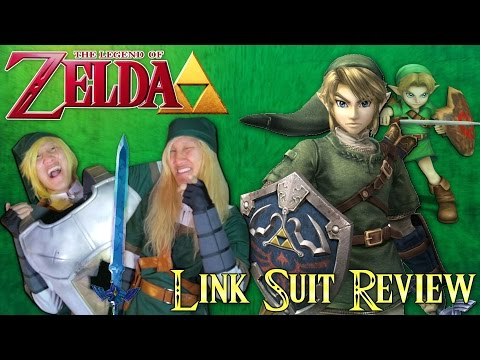 Legend of Zelda Link Cosplay Review (Unboxing)