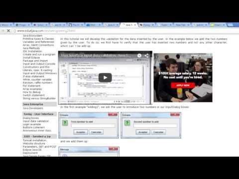 Java GUI BMI Calculator Data Validation Part 1