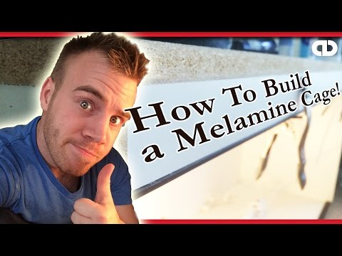 How To Build A Melamine Cage For Reptiles