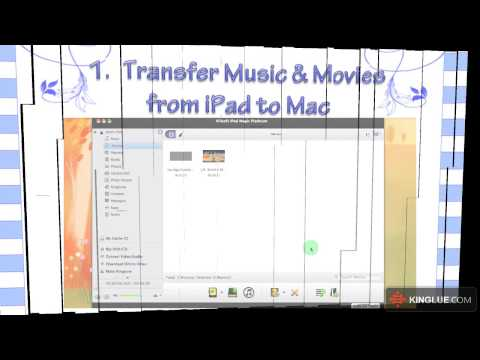 [iPad Manager] How to Transfer Music & Movies between iPad, iTunes and Mac?