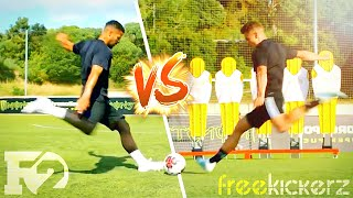 F2 VS FREEKICKERZ | EPIC FREE KICK CHALLENGE! ⚽️🔥