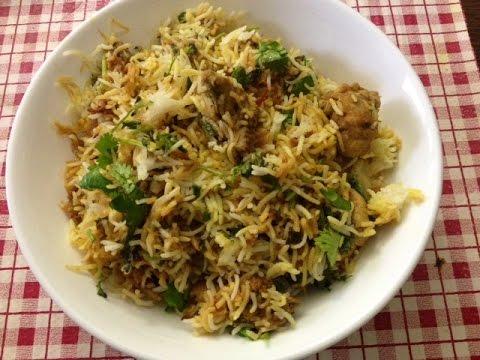 Hyderabadi chicken biryani in Tamil(easy method )