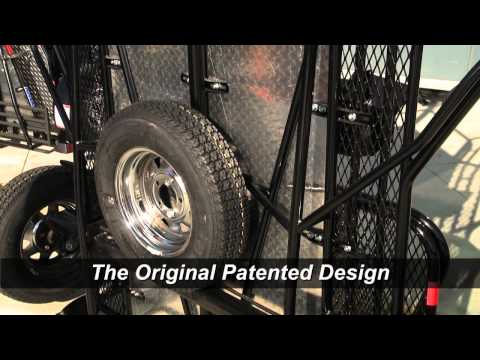 Kendon Stand-Up™ Trailer Patented Chassis Design