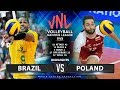Brazil Vs Poland Highlights Mens VNL 2019