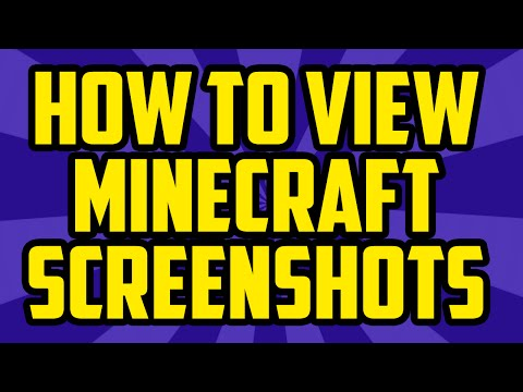 How To View Your Minecraft Screenshots 2017 PC - Minecraft View Screenshot Folder 1.10