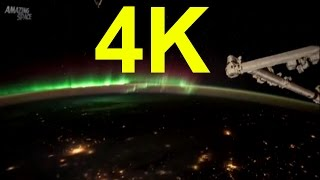 Time lapse 4K video Earth From Space ISS Timelapse Expedition 45