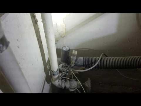 Washing Machine Hose Leaking