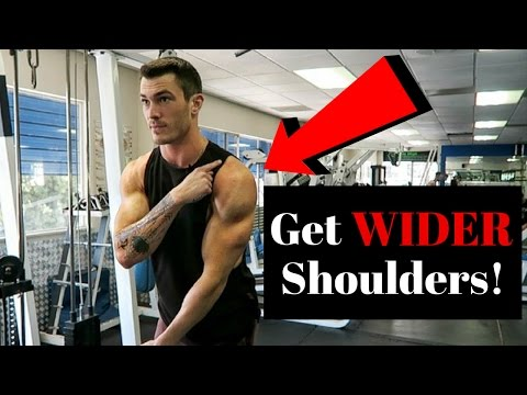 How To Get Wider Shoulders (Fix This!)