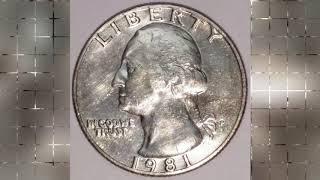 25000$$$ Price Rare and Error 1981 1982 1983 US Coins