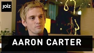 """Aaron Carter: """"I am not best friends with my brother Nick"""" (1/5)"""