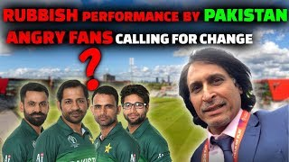Rubbish Performance By Pakistan | Angry Fans Demand A Change | Pak vs Ind