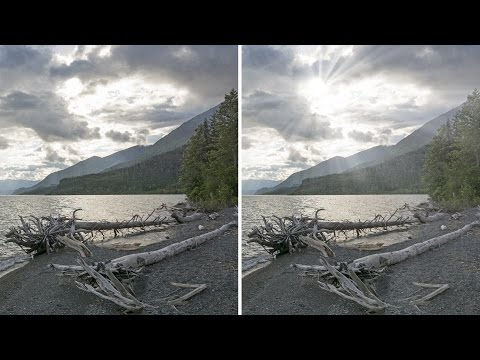How To Make Light Rays Through Clouds In Photoshop