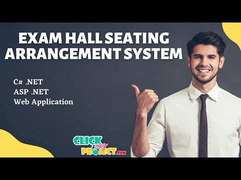 Final Year Projects | Exam Hall Seating Arrangement System