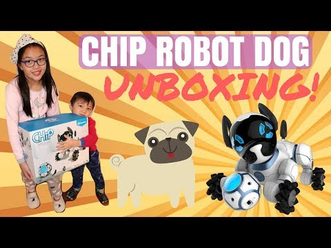 CHIP The Robot Dog By WowWee UNBOXING!