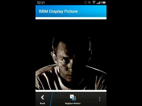 BBM for Android: How to change display picture