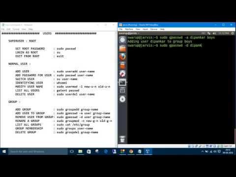 Linux Commands 9. Groups : groupadd, groupmod, groupdel