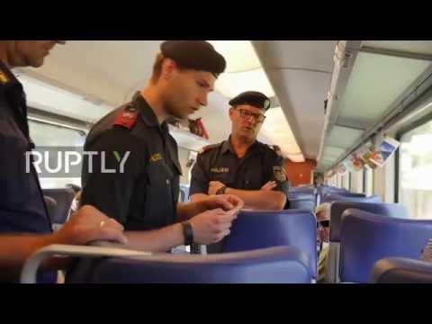 Austria: Police implement ID checks on trains crossing Austrian-Italian border