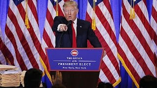Trump blast US spy agencies over Russia claims