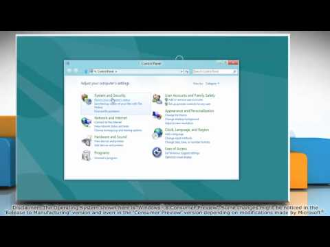 How to Enable Windows Firewall on Windows® 8
