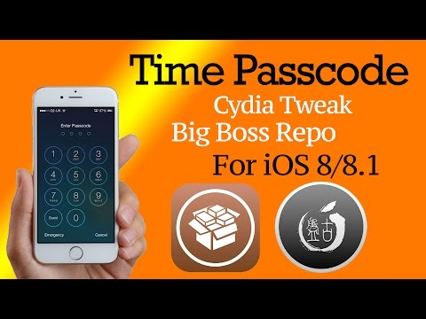 Time Passcode : Cydia Tweak for iOS 8!