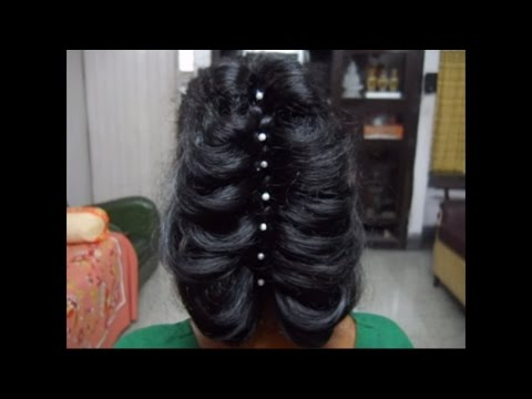 Party Hair Style. Get yourself a Stylish look.