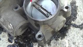 промывка дроссельной заслонки на Ford C Max