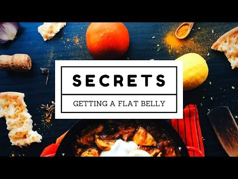 5 Secrets to Getting a Flat Belly Fast