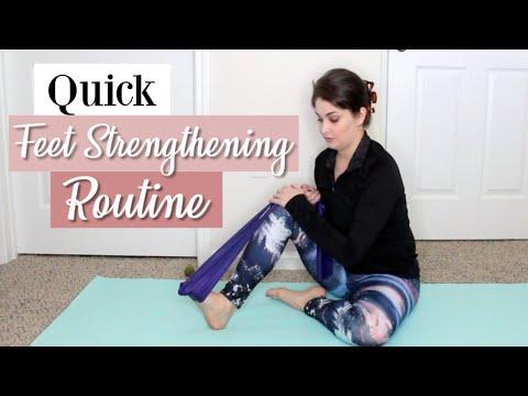 Pre Ballet Class Feet Strengthening Routine | Kathryn Morgan
