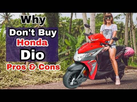 Why Not to Choose Honda Dio, pros & cons, honest opinion, comparison with Jupiter & Activa 5G