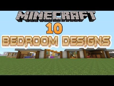 Minecraft 10 Bedroom Designs