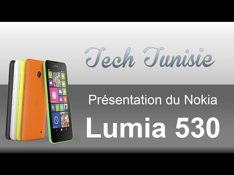 Tech Tunisie - Présentation du Nokia lumia 530