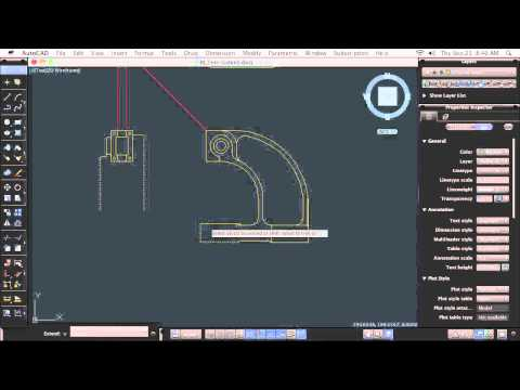 AutoCAD for Mac: Trimming and Extending Objects