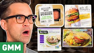 ULTIMATE Veggie Burger Taste Test