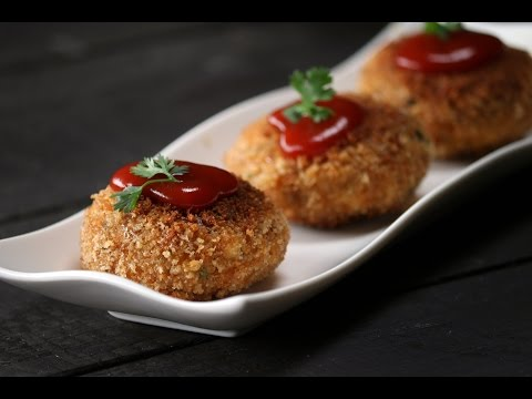 Crispy Chicken Keema Cutlets | Sanjeev Kapoor Khazana