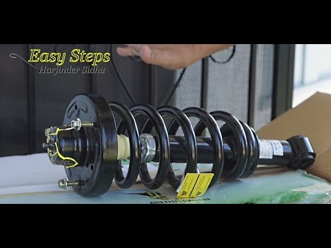 How to Convert Air To Coil Spring on 07-14 Lincoln Navigator - Part 2