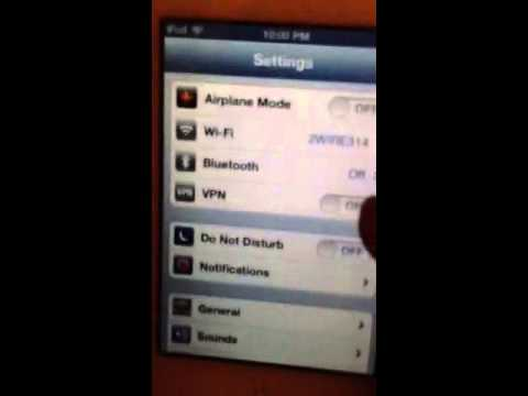 How to change the iPod name on status bar