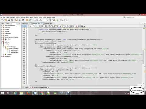 java tutorial | 02 opening new jframe form when a button is clicked closing the previous