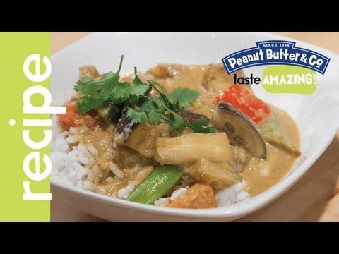 Peanut Butter & Eggplant Thai Curry recipe