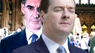 Brexit Jacob Rees-Mogg tears George Osbourne a posh new one