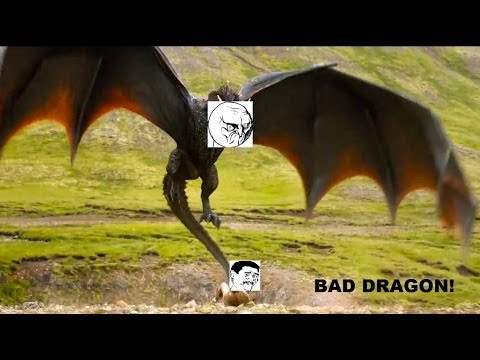 Daenerys Targaryen's spoiled Dragons