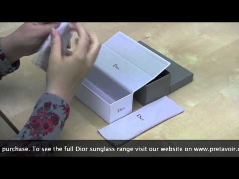 Dior Sunglass Unboxing