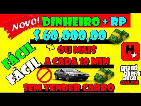 GTA V Online Como Ganhar Dinheiro Honesto Facil $60 Mil ou mais a cada 10 minutos