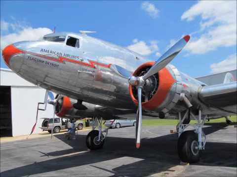 DC-3 American Airlines and Military Aircraft